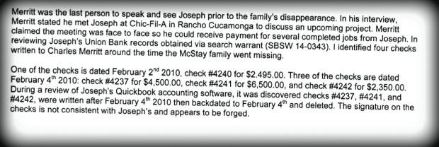 Checks forged 1590