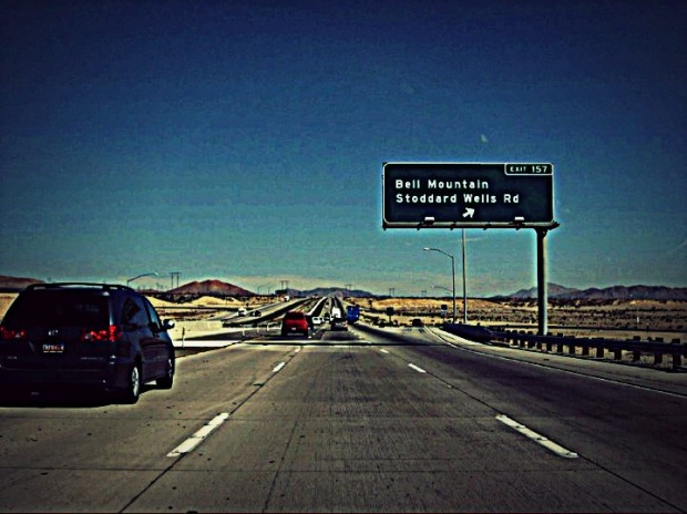 Exit 157 Bell Mount.