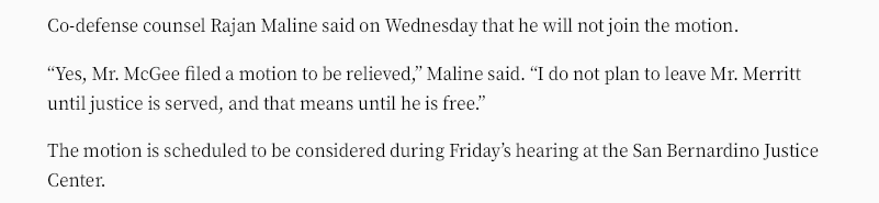 Maline no motion